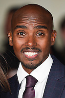 LONDON, UK. November 28, 2016: Mo Farah at the &quot;I Am Bolt&quot; World Premiere at the Odeon Leicester Square, London.<br /> Picture: Steve Vas/Featureflash/SilverHub 0208 004 5359/ 07711 972644 Editors@silverhubmedia.com