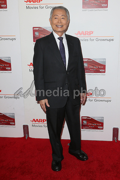 06 February 2017 - Beverly Hills, California - George Takei. AARP 16th Annual Movies For Grownups Awards held at the Beverly Wilshire Four Seasons Hotel. Photo Credit: F. Sadou/AdMedia