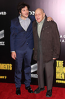 "NEW YORK, NY - FEBRUARY 04: Dimitri Leonidas, Harry Ettlinger at the New York Premiere Of Columbia Pictures' ""The Monuments Men"" held at Ziegfeld Theater on February 4, 2014 in New York City, New York. (Photo by Jeffery Duran/Celebrity Monitor)"
