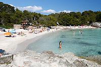 Spain, Menorca, near Ciutadella: Cala en Turqueta, South West Coast | Spanien, Menorca, bei Ciutadella: Cala en Turqueta an der Suedwest-Kueste