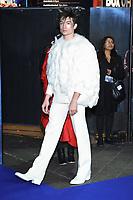 """Ezra Miller<br /> arriving for the """"Fantastic Beasts: The Crimes of Grindelwald"""" premiere, Leicester Square, London<br /> <br /> ©Ash Knotek  D3459  13/11/2018"""