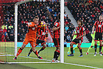 Bournemouth's Artur Boruc almost takes the ball over his own line during the Premier League match at the Vitality Stadium, London. Picture date December 4th, 2016 Pic David Klein/Sportimage