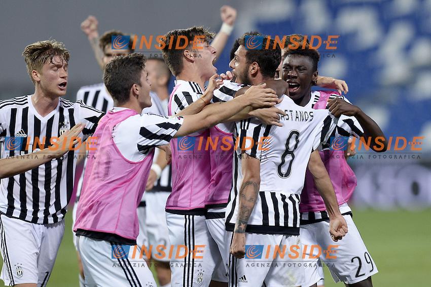 Reggio Emilia 04-06-2016 - finale Campionato Primavera / Roma-Juventus / foto Daniele Buffa/Image Sport/Insidefoto<br /> nella foto: esultanza gol Grigoris Kostanos