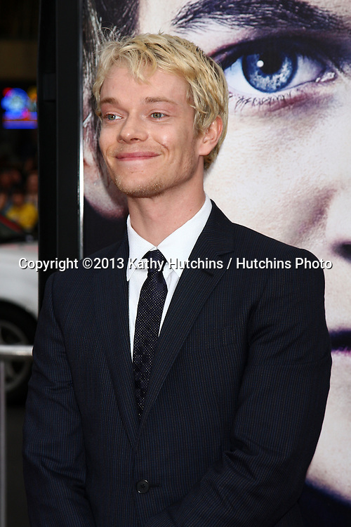 "LOS ANGELES - MAR 18:  Alfie Allen arrives at ""Game of Thrones"" Season 3 Premiere at the Chinese Theater on March 18, 2013 in Los Angeles, CA"