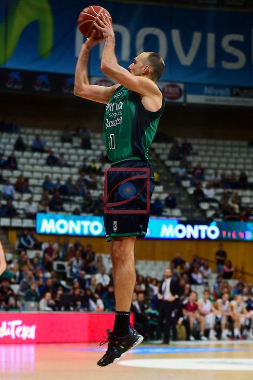 League ACB-ENDESA 2016/2017. Game: 5.<br /> Divina Seguros Joventut vs Baskonia: 83-90.<br /> Luka Bogdanovic.