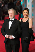 London, UK. 14 February 2016. Director Sir Ridley Scott. Red carpet arrivals for the 69th EE British Academy Film Awards, BAFTAs, at the Royal Opera House. © Vibrant Pictures/Alamy Live News