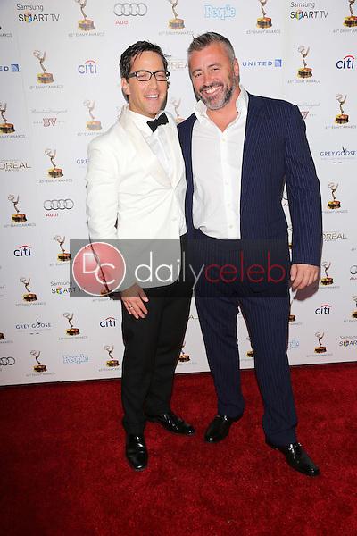 Dan Bucatinsky, Matt LeBlanc<br /> at the 65th Annual Emmy Awards Performers Nominee Reception, Pacific Design Center, West Hollywood, CA 09-20-13<br /> David Edwards/Dailyceleb.com 818-249-4998