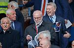 28.04.2019 Rangers v Aberdeen: Davie Moyes and Walter Smith