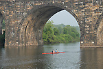 Boathouse Row area along the Schuylkill River, scullers rowing..Philadelphia, Pennsylvania, PA USA.  Photo copyright Lee Foster, 510-549-2202, lee@fostertravel.com, www.fostertravel.com. Photo 317-30201