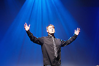 Bergen, 20110512. Nordiske Mediedager, torsdag.  Thomas Seltzer med Trygdekontoret Mediespessial.. Foto: Eirik Helland Urke