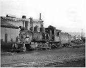 D&amp;RGW #315 at Durango, Colorado. Renumbered from D&amp;RGW #425.<br /> D&amp;RGW  Durango, CO  1951