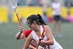 Santa Barbara, CA 02/19/11 - Kelsey Anderson (Arizona #21) in action during the Arizona-Northeastern game at the 2011 Santa Barbara Shootout.