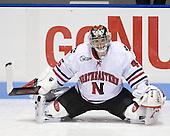 Bryan Mountain (NU - 46) - The Northeastern University Huskies defeated the Bentley University Falcons 3-2 on Friday, October 16, 2009, at Matthews Arena in Boston, Massachusetts.