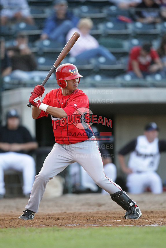 August 13, 2009: Kevin Ramos of the Orem Owlz.The Owlz are the Pioneer League affiliate for the Los Angeles Angels. Photo by: Chris Proctor/Four Seam Images