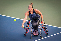 Amstelveen, Netherlands, 19 Augustus, 2020, National Tennis Center, NTC, NKR, National  Wheelchair Tennis Championships, Woman's single: Jiske Griffioen (NED)<br /> Photo: Henk Koster/tennisimages.com