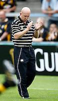 Photo: Richard Lane/Richard Lane Photography.London Wasps v Worcester Warriors. Guinness Premiership. 20/09/2009. Wasps' head coach, Shaun Edwards.
