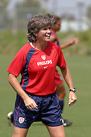 April Heinrichs, USWNT vs. Costa Rica, September 1, 2003.