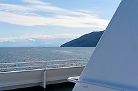 View of the Strait of Georgia from the Bowen Island Ferry, British Columbia, Canada