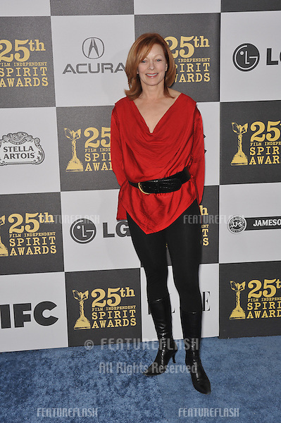 Frances Fisher at the 25th Anniversary Film Independent Spirit Awards at the L.A. Live Event Deck in downtown Los Angeles..March 5, 2010  Los Angeles, CA.Picture: Paul Smith / Featureflash