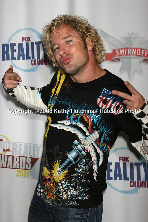 Jon Dalton aka Jonny Fairplay arriving at The Realiity Awards at the Avalon Theater in Los Angeles, CA on.September 24, 2008.©2008 Kathy Hutchins / Hutchins Photo....