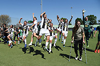 Juventus players .  Celebration at the end of the match <br /> Verona 20-4-2019 Stadio AGSM Olivieri <br /> Football Women Serie A Hellas Verona - Juventus <br /> Juventus win italian championship <br /> Photo Daniele Buffa / Image Sport / Insidefoto