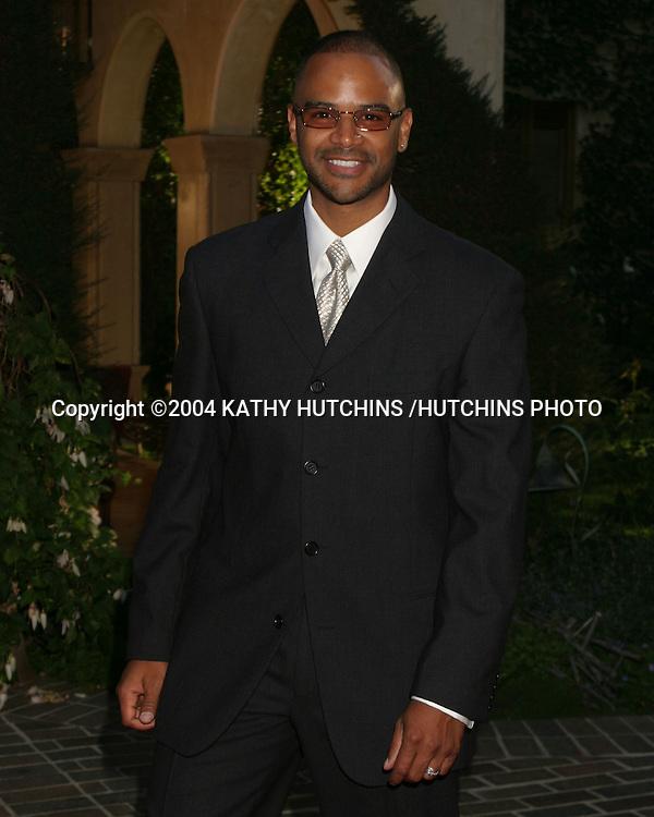 ©2004 KATHY HUTCHINS /HUTCHINS PHOTO.HOLLYROD FOUNDATION GALA.PACIFIC PALLISADES, CA.JUNE 10, 2004..DONDRE T. WHITFIELD