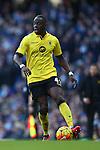 Aly Cissokho of Aston Villa - Barclay's Premier League - Manchester City vs Aston Villa - Etihad Stadium - Manchester - 05/03/2016 Pic Philip Oldham/SportImage