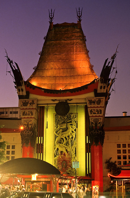 Grauman's Chinese Theatre in Hollywood in Los Angeles, California, USA