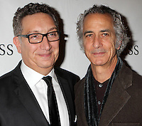 "Director Moises Kaufman and David Strathairn attend the opening night party for Broadway's ""The Heiress"" at The Edison Ballroom in New York, 01.11.2012...Credit: Rolf Mueller/face to face / MediaPunch Inc  **online only for weekly magazines**** .<br />