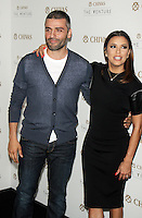 NEW YORK, NY-July 14:  Oscar Isaac, Eva Longoria, at Chivas Regal presents The Venture Grand Finale at Pier 59 West Side Highway in New York. NY July 14, 2016. Credit:RW/MediaPunch