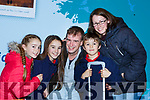 Maeve, Maddie and Dominick Courtney Waterville give their uncle Greg Wright a huge hug with their mum Miriam after he returned home from London for Christmas at Kerry Airport on Monday