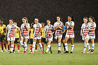 Lakewood Ranch, FL - Wednesday, October 10, 2018:   USWNT, Penalty kicks during a U-17 USWNT match against Colombia.  The U-17 USWNT defeated Colombia 4-1.