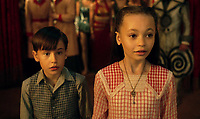 Nico Parker &amp; Finley Hobbins<br /> Dumbo (2019) <br /> *Filmstill - Editorial Use Only*<br /> CAP/RFS<br /> Image supplied by Capital Pictures