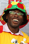 13 JUN 2010: Ghana fan. The Serbia National Team lost 0-1 to the Ghana National Team at Loftus Versfeld Stadium in Tshwane/Pretoria, South Africa in a 2010 FIFA World Cup Group D match.