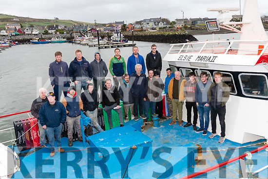 A group of fishermen from Dingle.
