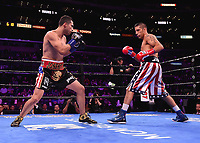 LOS ANGELES - SEPTEMBER 28:  Josesito Lopez and John Molina Jr. during their fight on the Fox Sports PBC Pay-Per-View fight night on September 28, 2019 in Los Angeles, California. (Photo by Frank Micelotta/Fox Sports/PictureGroup)