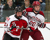 Marty O'Grady (RPI - 27), Ryan McGregor (Harvard - 20) - The Harvard University Crimson defeated the visiting Rensselaer Polytechnic Institute Engineers 4-0 (EN) on Saturday, November 10, 2012, at Bright Hockey Center in Boston, Massachusetts.