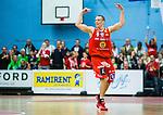 ****BETALBILD**** <br /> Uppsala 2015-04-24 Basket SM-Final 3 Uppsala Basket - S&ouml;dert&auml;lje Kings :  <br /> Uppsalas Rickard Eriksson jublar under matchen mellan Uppsala Basket och S&ouml;dert&auml;lje Kings <br /> (Foto: Kenta J&ouml;nsson) Nyckelord:  Basket Basketligan SM SM-final Final Fyrishov Uppsala S&ouml;dert&auml;lje Kings SBBK jubel gl&auml;dje lycka glad happy