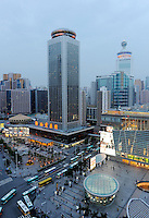 Cityscape of Shenzhen, China..