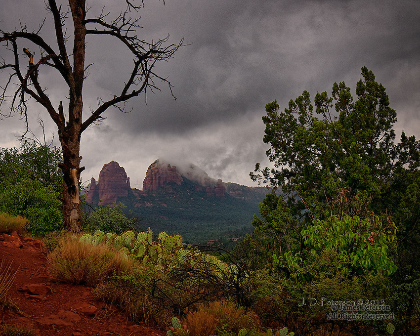 Storm Light over Sedona, Arizona