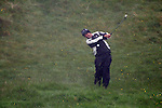 Padraig Harrington playing his second shot on the 4th during day two of the 3 Irish Open..Pic Fran Caffrey/golffile.ie
