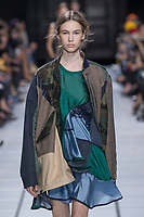 SACAI<br /> show at Spring/Summer 2018 Ready-to-Wear Fashion Show at Paris Fashion Week in Paris, France in October 2017.<br /> CAP/GOL<br /> &copy;GOL/Capital Pictures