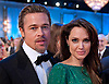 ANGELINA JOLIE & BRAD PITT.68th Annual Golden Globe Awards at the Beverly Hilton, Beverly Hills, Los Angeles_16/01/2011.PHOTO CREDIT: ©HFPA-NEWSPIX INTERNATIONAL  ..IMMEDIATE CONFIRMATION OF USAGE REQUIRED:Tel:+441279 324672..Newspix International, 31 Chinnery Hill, Bishop's Stortford, ENGLAND CM23 3PS.Tel: +441279 324672.Fax: +441279 656877.Mobile: +447775681153.e-mail: info@newspixinternational.co.uk