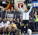 12.01.2019, Mercedes Benz Arena, Berlin, GER, Germany vs. Brazil, im Bild Andreas Wolff (GER #33)<br /> <br />      <br /> Foto &copy; nordphoto / Engler