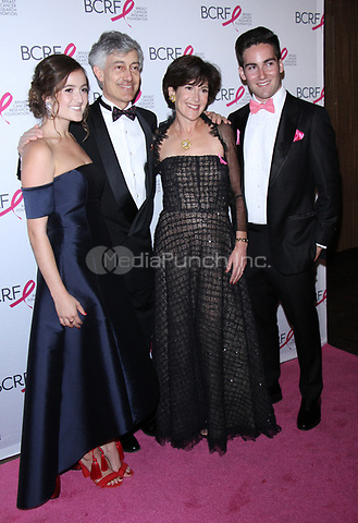 NEW YORK, NY May 12, 2017  Eliana Lauder, Gary Lauder, Laura Lauder, Joshua Lauder attend Breast Cancer Research Foundation's Hot Pink Party   at Park Avenue Armory in New York May 12,  2017. Credit:RW/MediaPunch