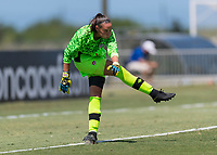 Bradenton, FL - Sunday, June 12, 2018: Anna Karpenko prior to a U-17 Women's Championship 3rd place match between Canada and Haiti at IMG Academy. Canada defeated Haiti 2-1.