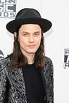 LOS ANGELES - NOV 20: James Bay at the 2016 American Music Awards at Microsoft Theater on November 20, 2016 in Los Angeles, California