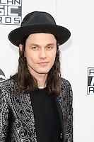 LOS ANGELES - NOV 20: James Bay at the 2016 American Music Awards at Microsoft Theater on November 20, 2016 in Los Angeles, California