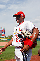 Curt Smith talking about hitting the game winning run April 20th, 2010; Midland Texas Rockhounds vs The Springfield Cardinals at Hammons Field in Springfield Missouri.  The Cardinals won in the 9th inning breaking a 1-1 tie.