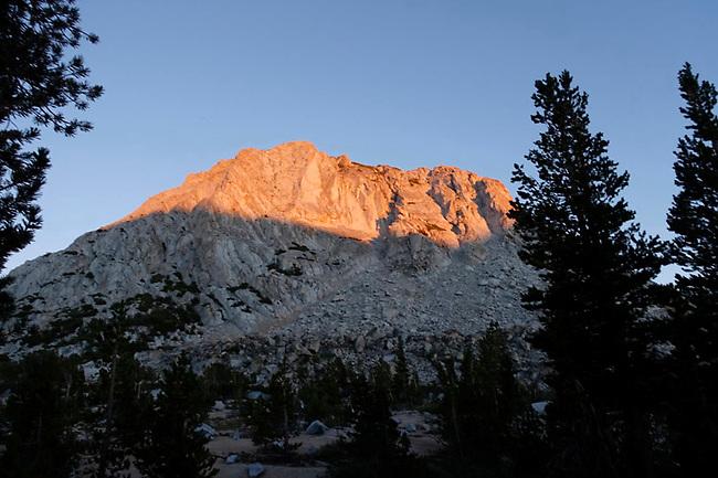 Fletcher Peak at sunset